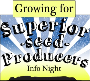 growing for SSP info night